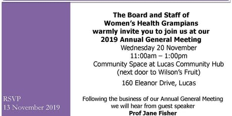 Women's Health Grampians Annual General Meeting tickets
