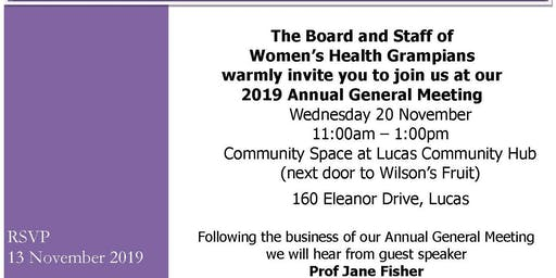 Women's Health Grampians Annual General Meeting