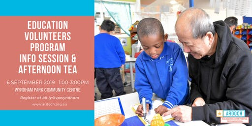 Ardoch's Education Volunteers Program Information Session
