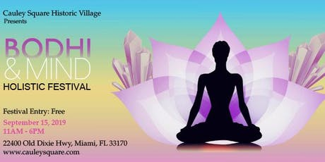 The Bodhi & Mind Holistic Festival tickets
