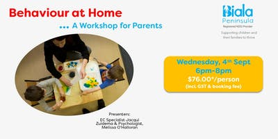 Behaviour at Home - A Workshop for Parents