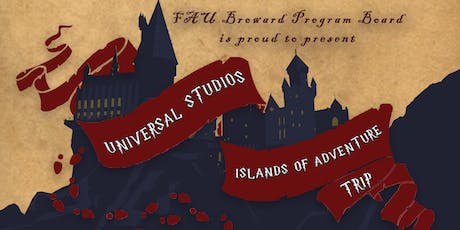 Universal Studios & Islands of Adventure Trip tickets
