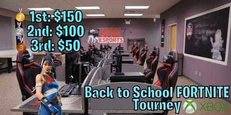 Back to School Fortnite Tourney | Game is the Name tickets