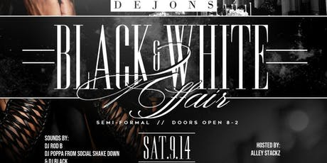 DeJon's Black & White Affair tickets