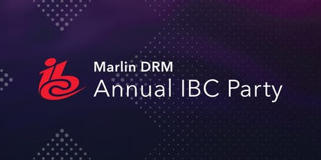 Marlin DRM Party @ IBC 2019 tickets