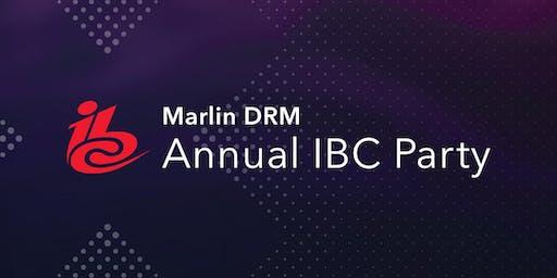 Marlin DRM Party @ IBC 2019