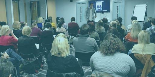 The Evolve Network Leeds 19th September with Arna Van Goch & Denise Mortimer