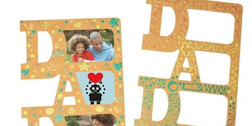Father's Day craft Photo Frame DIY for Dad Workshop
