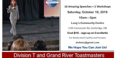 Marketing Expo & Speech Contest tickets
