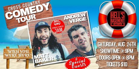 CROSS COUNTRY COMEDY tickets