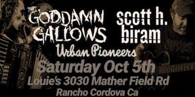 The Goddamn Gallows, Scott Biram, & Urban Pioneers Party w the poor boys CC