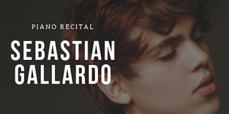Sebastian Gallardo - Liszt , Beethoven, Chopin, Rachmaninoff tickets