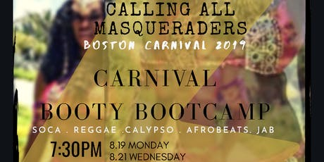 Carnival Booty Bootcamp tickets
