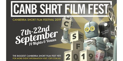 CanbShrtFilmFest x Belco Arts Centre Screening
