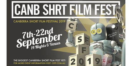 CanbShrtFilmFest x Belco Arts Centre Screening tickets