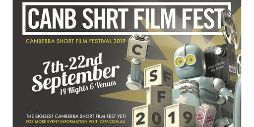 CanbShrtFilmFest x Belco Arts Centre Screening