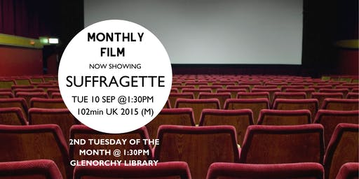 Monthly film showings - September @ Glenorchy Library