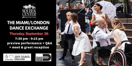 The Miami/London Dance Exchange tickets
