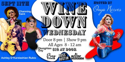 Wine Down Wednesday - Sept 11th