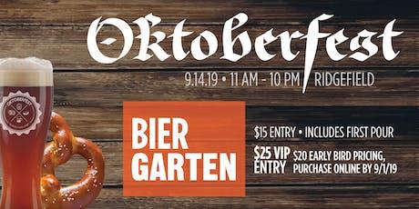 Ridgefield Oktoberfest 2019 tickets