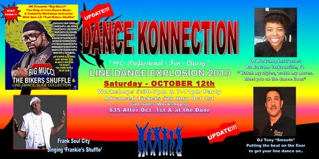 Dance Konnection Line Dance Explosion 2019 tickets