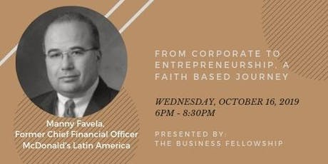 From Corporate to Entrepreneurship: A Faith Based Journey tickets