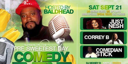 Pre~Sweetest Day Comedy Event
