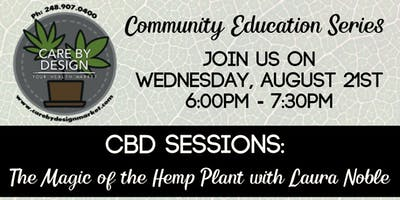 Care By Design Community Education Series - The Magic of the Hemp Plant