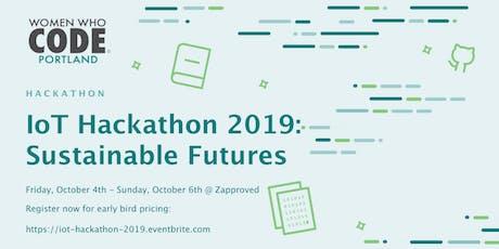 WWCode Portland - IoT Hackathon 2019 tickets