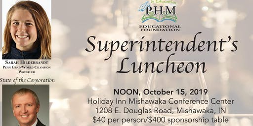2019 PHMEF Superintendent's Luncheon