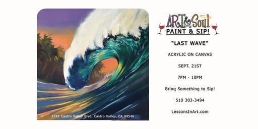 "Paint Night: ""Last Wave"""