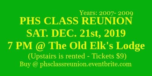 PHS Class Reunion! (2007-2009)