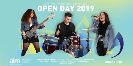 AIM Open Day 2019   Sydney tickets