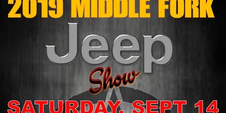 Middle Fork Jeep Show tickets