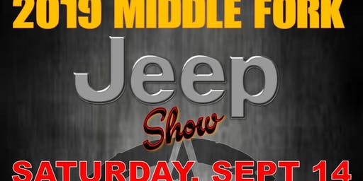 Middle Fork Jeep Show