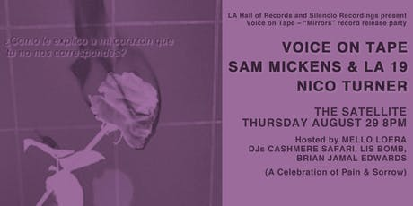 VOICE ON TAPE (Record Release) w Sam Mickens & LA 19 and Nico Turner tickets