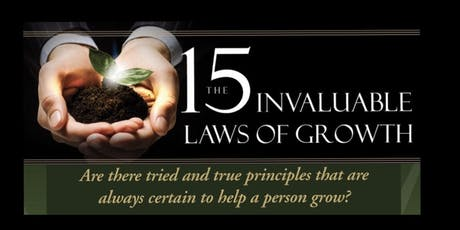 The 15 Invaluable Laws of Growth: First Responder Exclusive boletos