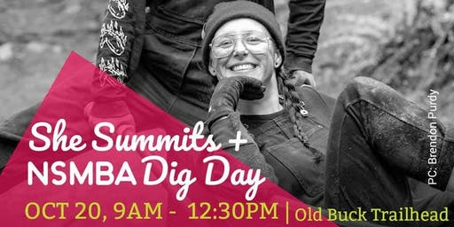NSMBA + She Summits dig day
