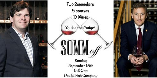 Dueling Sommelier Dinner with Postal Fish Company & Vino Wine Shop