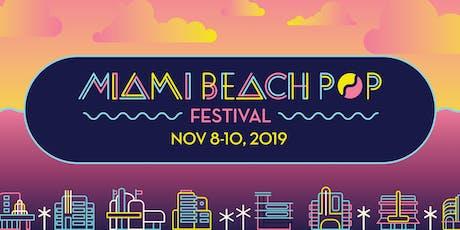 Clevelander South Beach Hotel Package · Miami Beach Pop · Nov 8-10, 2019 tickets