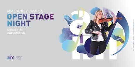 AIM Sydney | Open Stage Night tickets