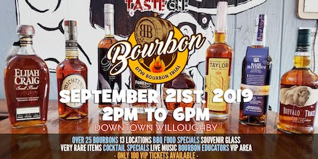 DTW Bourbon Trail 2019 tickets