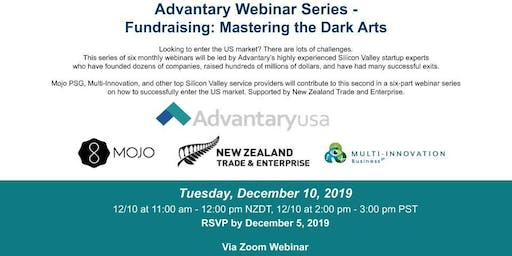 Advantary Webinar Series - Fundraising: Mastering the Dark Arts
