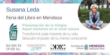 SUSANA LEDA en la Feria del Libro de Mendoza entradas