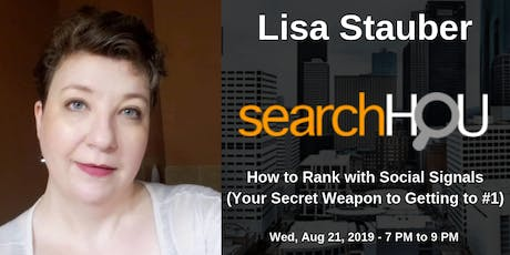 How to Rank with Social Signals, Lisa Stauber tickets