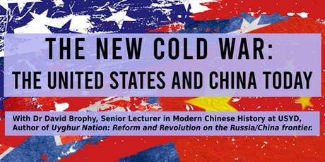 The New Cold War: The United States and China Today tickets