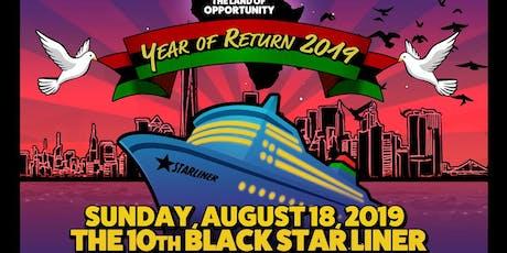 10th Black Starliner Boat Ride 2019 tickets