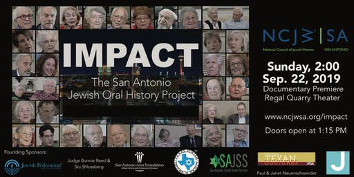 Impact: The San Antonio Jewish Oral History Project - Sep 22