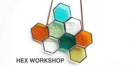 Stained Glass Hex Workshop - SAT - SEPT 22nd - 10a-1p tickets