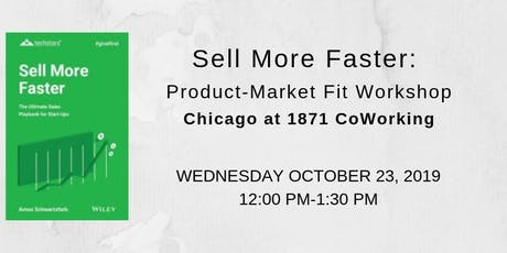 Finding your Product-Market fit via the W3 method tickets